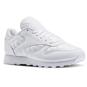 Reebok classic Quilted White